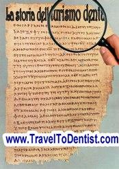 La storia dell turismo dentale