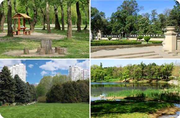 Green parks of chisinau