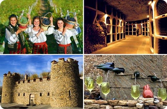 bodegas de vino en Moldavia