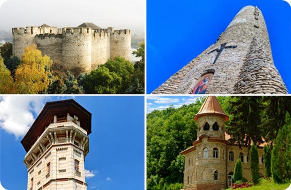 fortalezas en Moldavia