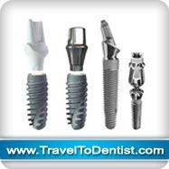 varias formas del implante dental
