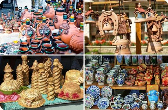 souvenirs y recuerdos en Moldavia