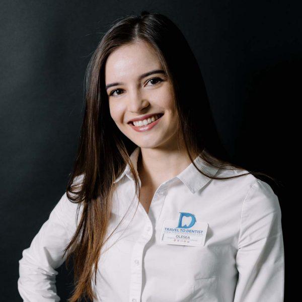 Олеся Цуркан (Бодруг) - Руководитель Центра Помощи в стоматологической клиники в Молдове.