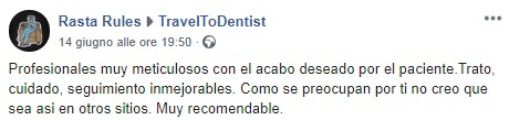 Thoughts of a patient of the dental clinic in Moldova