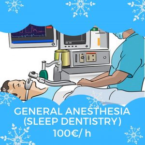 General Anesthesia (sleep dentistry) in Moldova price 100€/ h