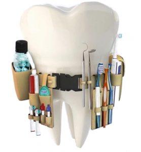 Diferite dispozitive pentru a menține o igienă dentară sănătoasă