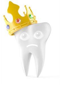 Dinte cu coroană dentară