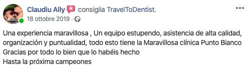 Impresiones de Claudiu sobre la clínica dental