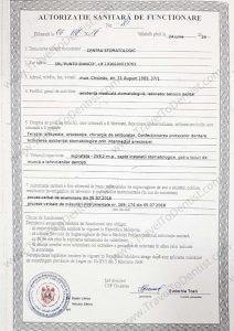 Authorization dental care