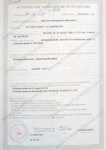Authorization radiography